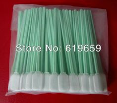 Knitted polyester swab for cleaning broad surfaces and flat areas Alternative to ITW Texwipe TX714A Large Alpha Swab