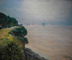 Alfred Sisley - Langland Bay, 1897 at Wallraf-Richartz Museum Cologne Germany by mbell1975, via Flickr