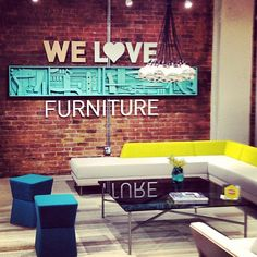 """We Love Furniture"" #neocon13 #neoconography #furniture #neocon"