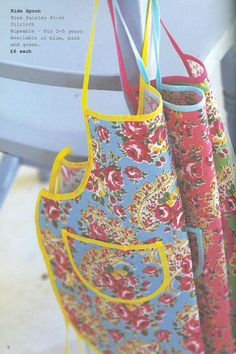 Paisley kids aprons from 2000...Cath Kidston