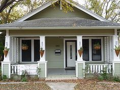 Attorney's office in Kerrville, Texas. 1930 bungalow