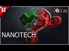 Blender 2.80 - Nanotech Suit [EEVEE] - YouTube