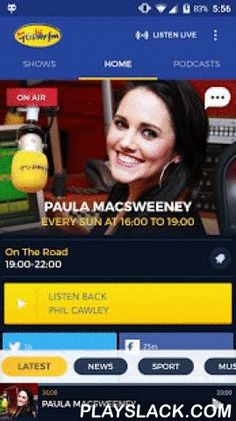 Today FM  Android App - playslack.com , The all new Today FM Android App, completely redesigned for maximum listening pleasure!Whether you're hooked on the positivity of Ian Dempsey, the hilarity of Gift Grub, the energy of Anton Savage, the craic with Dermot & Dave, the best tunes from Louise Duffy and Paul McLoone, or the more serious stuff with Matt Cooper, this is the best way to get your daily fix from Ireland's most entertaining radio station. There's all the usual radio app…