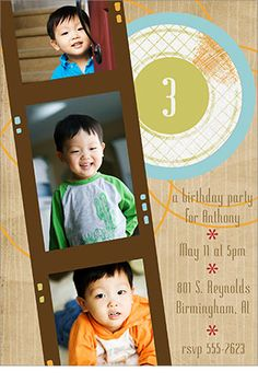 Birthday card - twin boys