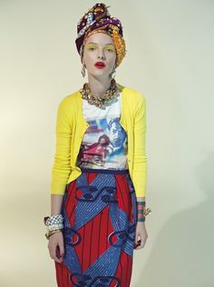 Stella Jean Spring Summer 2013 collection/ African fashion