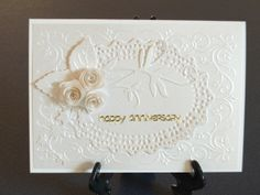Patricia Manhire: Stay Calm and Keep Crafting! - Elegant Anniversary Card