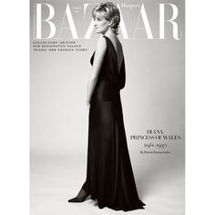 Harper's Bazaar special edition in connection with the exhibition Diana: Her Fashion Story, hold at Kensington Palace. This limited edition will only be avaliable through the Historical Royal Palaces' Gift Shops. Princess Diana Grave, Princess Diana Photos, Princess Of Wales, Anime Comics, Charles X, Prince Charles, Harper's Bazaar, Diana Fashion, Lady Diana Spencer