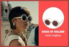 House of Holland Annice Sunglasses as seen on Gaby Teller in The Man from U.N.C.L.E.   TheTake