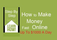 Hi, In this video I will show you how you can get started and make money online an easy way.