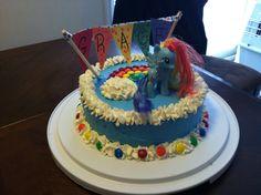 MLP Rainbow Dash Cake