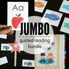 120+ engaging reading games PLUS 20 printable early reader books AND a must-have guided reading binder.
