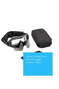 4a15512de948 Revision Military Desert Locust Fan Goggle Essential – Black