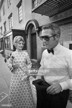 Joanne and Paul on their way to the 'Academy Awards.' 1970.
