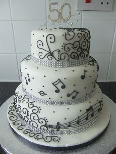 Since I love music and I love to sing, here's a music note cake.. I love this one.. 2nd choice out of my all time favorite!!!!!