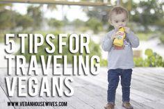 5 Tips for Traveling Vegans