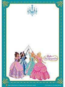 Papier barbie et les 3 mousquetaires imprimer sur - Barbie les 3 mousquetaires ...