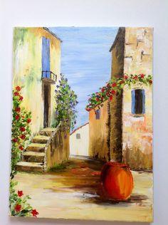 Peinture huile sur toile au couteau manuel rubalo for Peinture a lhuile couleur argent