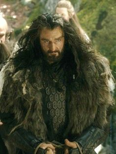 Sexy Thorin Oakenshield. That majestic intense sex stare. Unf.