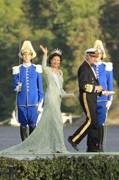 Queen Silvia - Princess Madeleine marries Chris O'Neill