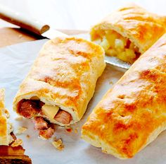 A very rare recipe here from England - The Hirshon Bedfordshire Clanger