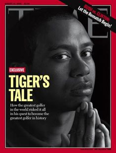 Tiger Woods Cover  Time Cover
