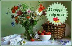 Jó reggelt ,szép napot Cooking Recipes, Facebook, Good Morning Images, Chef Recipes, Recipes