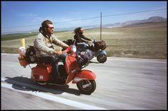 Avventure in Vespa Vespa Px, Scooters Vespa, Lambretta Scooter, Scooter Motorcycle, Motor Scooters, Motorcycle Adventure, Lml Star, Vespa Vintage, Scooter Girl