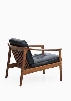 Folke Ohlsson; Teak and Leather 'Colorado' Easy Chair for Bodafors, 1963. Via Studio Schalling.