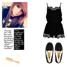 """Daddy needs to punish me ~Kitten"" by lovely-anons13 ❤ liked on Polyvore featuring Twin-Set and UGG Australia"