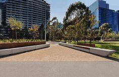 CLEC Site, Docklands Park- Stage 2 by MALA Studio « Landscape Architecture Works   Landezine