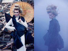 Mischievous Rocker Geishas : Fashion Gone Rogue 'Punk Geisha'