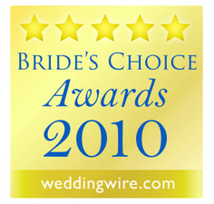 All the Best was listed on Wedding Wire's Bride Choice Award in 2010 - the first year the award was given
