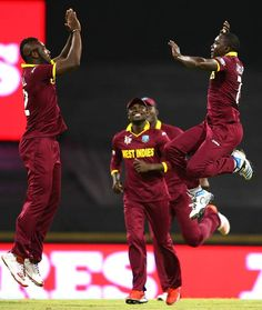 Jerome Taylor gave West Indies a good start by getting both the openers cheaplyIndia vs West Indies, 28th Match, Pool B