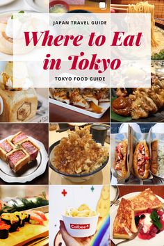 Where to eat in Tokyo: the best restaurants + cafes for breakfast, brunch, lunch & dinner. If you are looking for the best + cheapest places to eat read on. Tokyo Travel Guide, Tokyo Japan Travel, Japan Trip, Eat Tokyo, Tokyo Food, Best Restaurants In Tokyo, Tokyo Restaurant, Brunch, Photos Voyages