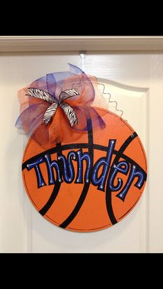Basketball by DoorCreationsbyJess on Etsy