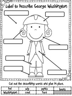 Presidents' Day Math and Literacy (Print & Go-Common Core Aligned) 40 Pages Kindergarten Social Studies, Social Studies Activities, Kindergarten Crafts, Teaching Social Studies, Teaching Activities, Teaching Ideas, Kindergarten Writing, Kindergarten Teachers, Psychology Graduate Programs
