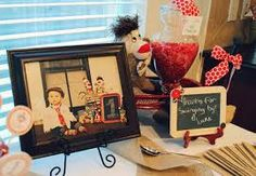 sock monkey 1st birthday table - Google Search