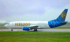 Helios was the god of the sun. Helios airways is a low cost operating for charter flights between Cyprus and European destinations  Helios also is a company that makes tanning salon software