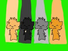 warrior cat party. This was an old video created by my favourite youtuber SplashKittyArtist!