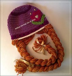 Princess Anna Hat Inspired by Anna from by WillowHillKidsToo