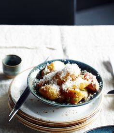 Yama Kitchen & Bar's potatoes with miso and pecorino :: Gourmet Traveller