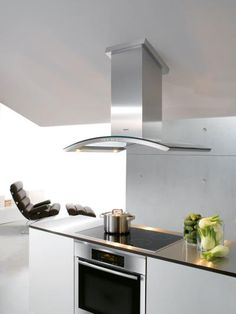 This cooktop and oven combination creates a sophisticated look
