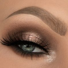 Gorgeous Makeup: Tips and Tricks With Eye Makeup and Eyeshadow – Makeup Design Ideas Natural Smokey Eye, Smokey Eye For Brown Eyes, Natural Eye Makeup, Blue Eye Makeup, Eye Makeup Tips, Makeup For Brown Eyes, Eyeshadow Makeup, Eyeshadows, Makeup Ideas