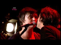 """Brit Punk's finest hour with the Libertines performing an old favourite """"Music When the Lights Go Out"""" released by the BBC a few years back. What a difference time makes, no?"""