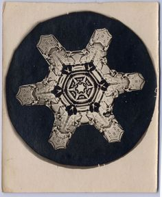 Wilson A. Bentley - Snowflake | From a unique collection of photography at http://www.1stdibs.com/art/photography/