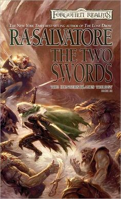 ✿ The Two Swords ~ Hunter's Blades ~ Book 3 ~ by R. A. Salvatore ✿  The whole set!