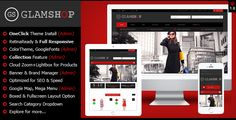 """Glamshop - Responsive & Retina Ready Magento Theme . """"Glamshop"""" – is a premium responsive & retina ready magento theme with clean, modern and elegant design.    Glamshop has features to help customize the interface your website easily without need to customize html, css. Glamshop is also featured with many other powerful trends & admin settings."""
