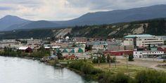 Whitehorse is the Territory Capital City of Yukon, Canada. Beautiful Places To Visit, Great Places, Places To Go, Places Around The World, Around The Worlds, Yukon River, Alaska Highway, Northern Canada, Yukon Territory