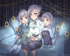 Aww the Schnee siblings
