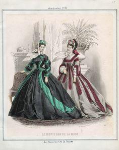 September, 1863 - Le Moniteur de la Mode
